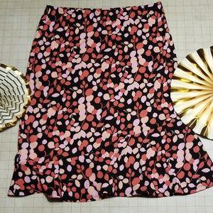 BCBG Max Azria Ruggle Skirt size S.
